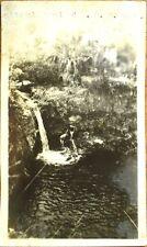 Isla de Pinos/Isle of Pines, Cuba 1930s Realphoto Postcard: Alto Del Mamei