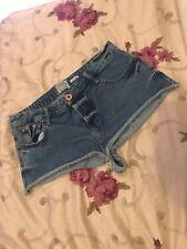 riverisland denim shorts size 12