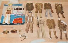 OUR SOLDIER JIM PAPER DOLL ORIGINAL CLOTHES WHITMAN PUBLISHING AMERICA 1943