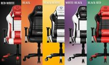 Furgle Pro Gaming Chair Safe&Durable Office Chair Ergonomic Leather Boss Chair f