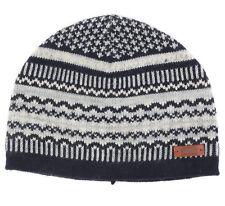 LEVI'S Gray Blue Adult Unisex Nordic Fair Isle Hat Cap Beanie - S/M