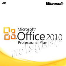 MS Office 2010 Professinal Plus Pro Plus  with DVD for 1 PC