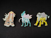 Pokemon Legendary Beasts Pin Trio! - New - In Stock!