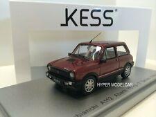 KESS MODEL 1/43 Autobianchi A112 Abarth VII-Series 1984 Red Ardenza  KE43022000
