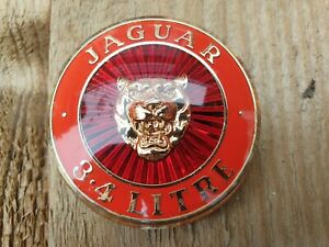Jaguar MK2 3.4 Litre Badge Genuine Used Part