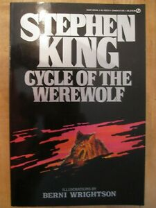1983 Stephen King CYCLE OF THE WEREWOLF Softcover Book