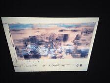 """Leon Golub """"Breach 1995"""" 35mm Art Slide"""