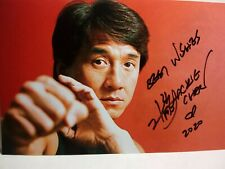 JACKIE CHAN Authentic Hand Signed Autograph 4X6 Photo - RUSH HOUR - FAMOUS ACTOR