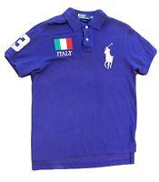 Polo pour homme officiel de lAtletico Madrid Crest