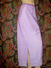 Vintage Snip-It Purple Swishy Taffeta Slit Formal Half Slip Lingerie S