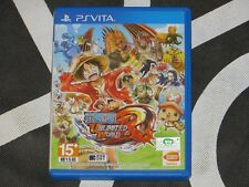 PS Vita PSV Import One Piece Unlimited World R Japanese Voice Chinese Subtitle
