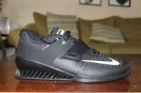 Nike Romaleos 3 Weightlifting Squat Shoes Black White 852933-002 Mens Multi SZ