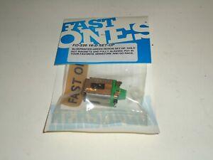 1/24 FAST ONES GREEN DEMON 16D SET-UP SLOT CAR NOS