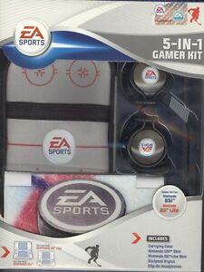 Nintendo DSi & DS Lite EA Sports 5 in 1 Hockey Gamer Kit Carrying Case Skin