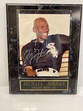 New listing Michael Jordan Chicago White Sox Autographed Photo- Custom Framed w/ COA