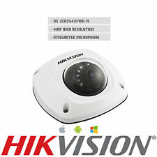 HikvisionDS-2CD2542FWD-IS 4MP WDR Mini Dome IP Camera IP67 POE Audio CCTV Camera