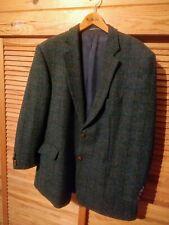Herren Sakko Gr. 56 Tweed 100 % Schurwolle
