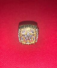 New listing 1995 Dallas Cowboys Championship Replica Aikman Super Bowl Ring Size 11
