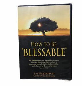 DVD & CD AUDIO: HOW TO BE BLESSABLE........PAT & GORDON ROBERTSON
