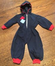 New listing Vtg 50's-60's Child's (Doll or Bear) Cotton Hooded Snowsuit Sz 6mo