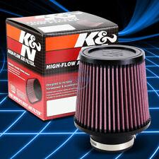 "K&N KN RU-4990 Washable/Reusable High-Flow Air Intake Filter 3""Flange 5.5""Height"