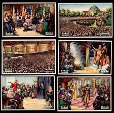 Das Deutsche Lied Erdal Kwak Rare German Card Set 1928 Folk Song National Anthem