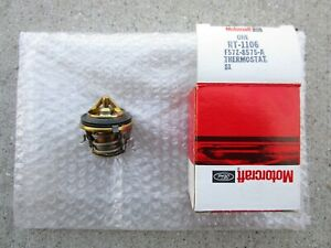 FORD F57Z-8575-A F57Z8575A MOTORCRAFT RT-1106 ENGINE COOLANT THERMOSTAT OEM NEW