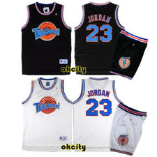 Michael Jordan 23 Space Jam Tune Squad Movie Jersey Stitched Adult Kid Youth Top