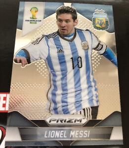 LIONEL MESSI - Argentina 2014 Panini Prizm World Cup card #12