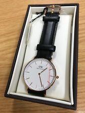 Daniel Wellington Women's Quartz Leather Watch Classic Sheffield Lady 0508DW