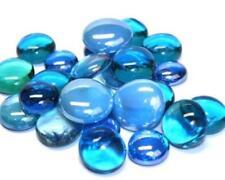 Verre Mosaïque Tuile Pépites - Turquoise Mélange Arrondi Gemmes