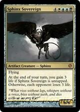 SPHINX SOVEREIGN Shards of Alara MTG Gold Artifact Creature — Sphinx MYTHIC RARE