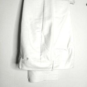 Ann Taylor White Curvy Career Trousers - 16