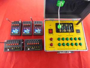 Salvo switch 24 Channel wireless remote fireworks firing system Wedding gift EMS