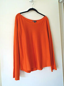 ***VINCE Sz L knit TOP melon!!