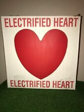 Vintage Union Valentine's Day Lighted Blow Mold Heart Decoration