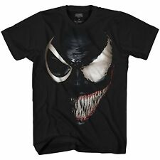 Marvel Venom Spider-Man Avengers Villain Comic Adult Mens Graphic T-shirt Tee