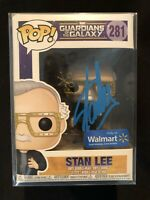 Stan Lee Signed by Stan Lee Funko Pop #281 Exclusive Excelsior Approved Holo