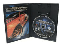 Need for Speed: Underground - Playstation 2 PS2 Game - Complete & Tested
