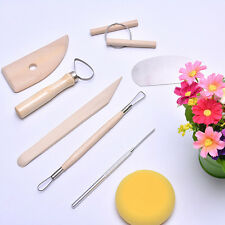 8X Pottery Clay Molding Sculpting Tools Set For clay Sculpture, TaoYi Tool Kit·