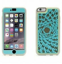 COVER IPHONE 6 PLUS 6S PLUS GRIFFIN FLOWER TURQUOISE PROTECTION SCREEN
