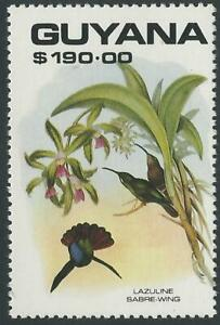 Guyana, 1990 Birds, 190$ Campylopterus falcatus - MNH
