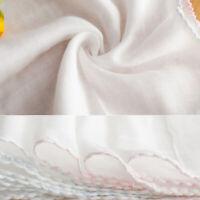 10Pcs Newborn Baby Cotton Handkerchief Towel Soft Gauze Bath Wash Towel Bib