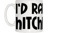 I'd Rather Be Hitchhiking Mug