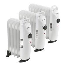 [pro.tec] Mobile Elektroheizung Öl Radiator Heizkörper Heizung Heizgerät Mobil