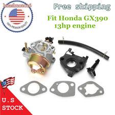 16100-ZF6-V01 Carburetor Carb for Honda Gx390 13hp Replaces W/ Gaskets