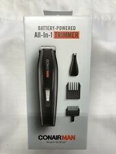 BRAND NEW! CONAIR MAN All-In-1 TRIMMER  Battery Operated
