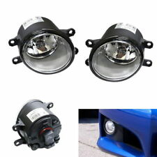 Clear Lens OE Rplacement Fog Light Lamps with H11 Bulbs For Toyota Lexus Scion