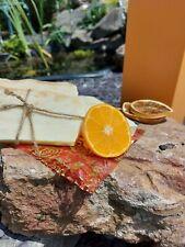 cocoa neroli olive oil natural handmade in Wales🏴soap