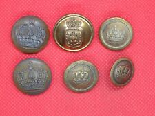 More details for ww1 imperial german prussian buttons